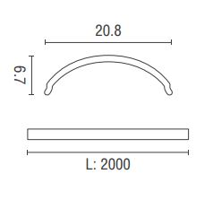 PROF61N dimensioni