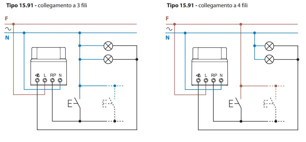 Schema Collegamento Orologio Finder : Dimmer varialuce per led v con comando a pulsante