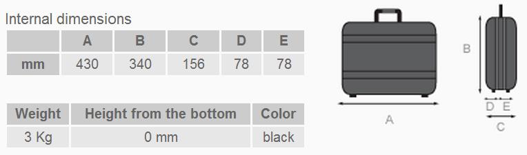 Boxer 170 - Dimensioni e peso