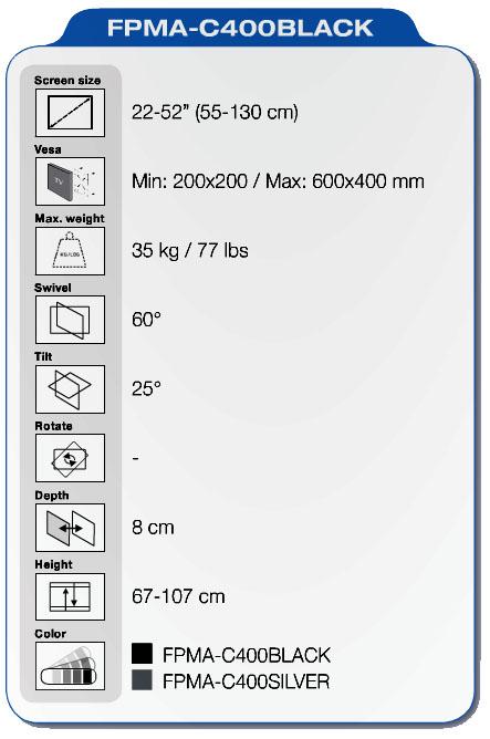NewStar FPMA-C400 specifiche
